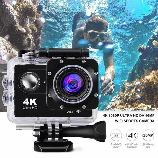 Kamera Sportive 4K  Ultra HD | Camera Sports HDMI 12mp