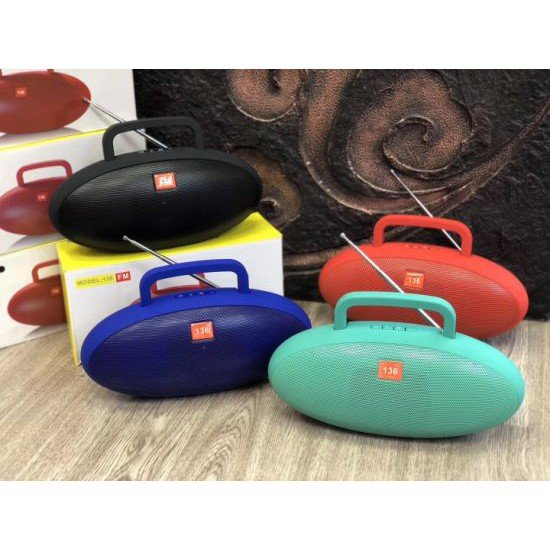 Boks me Bluetooth 136 | Portable Bluetooth Speaker