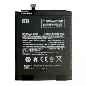 Bateri Per  Xiaomi Mi A1 , Mi 5X , Redmi Note 5A , Redmi 5A Pro BN31
