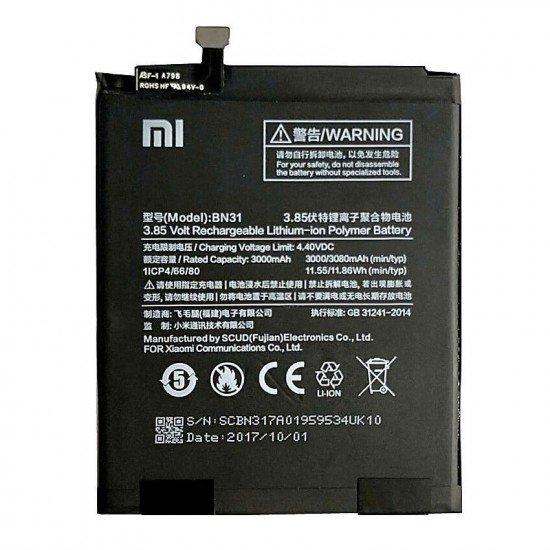 Bateri Xiaomi Mi A1/ Mi 5X/ Redmi Note 5A/ Redmi 5A Pro BN31