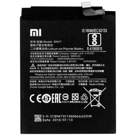 Bateri Xiaomi Mi A2 Lite-BN36