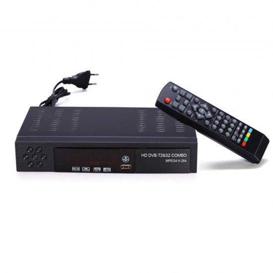Dekoder Tokesor dhe Satelitor Combo HD | Dekoder DVB T2 +S2