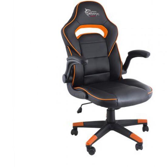Karrige per Lojra Gaming Chair White Shark Sheba