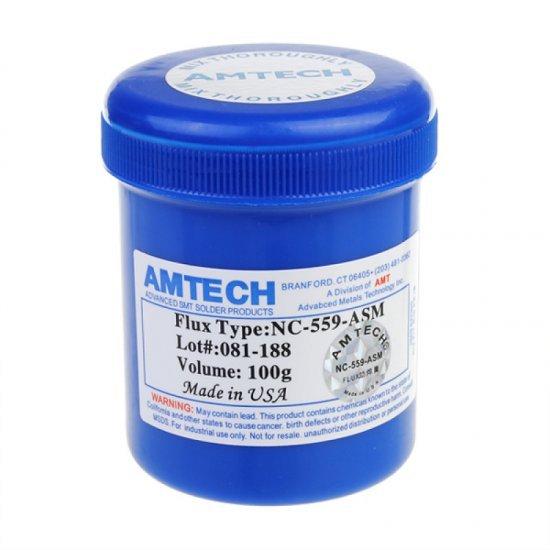 Paste Flux per Saldimin e Qarqeve Elektronike Amtech NC-559-ASM 100g
