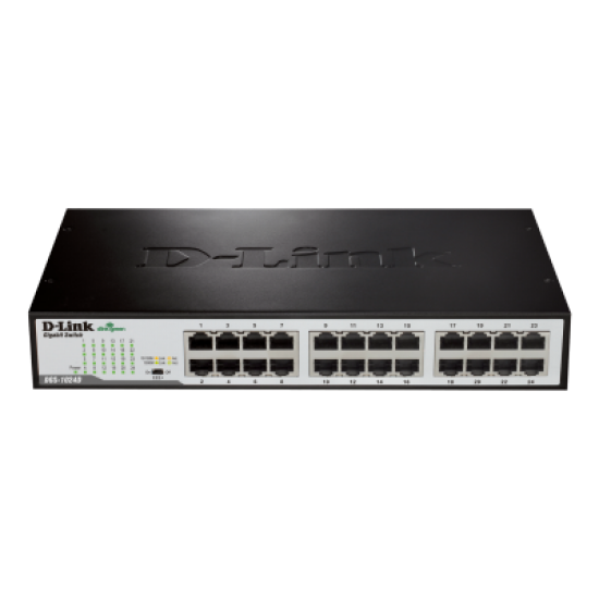 Switch D-Link me 24 Porta Gigabit   Pajisje Rrjeti