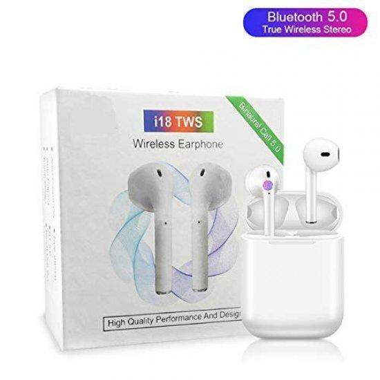 Kufje me Bluetooth Airpods i18 TWS