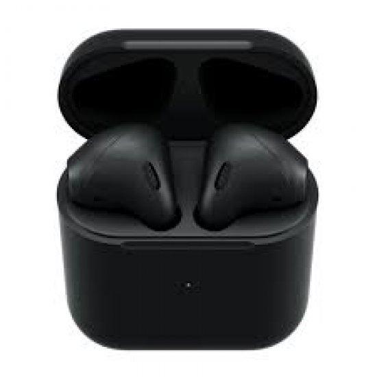 Kufje me Bluetooth 5.0 AirPods 2 Matte Black Apple me Karikim Wireless | BlackPods 2