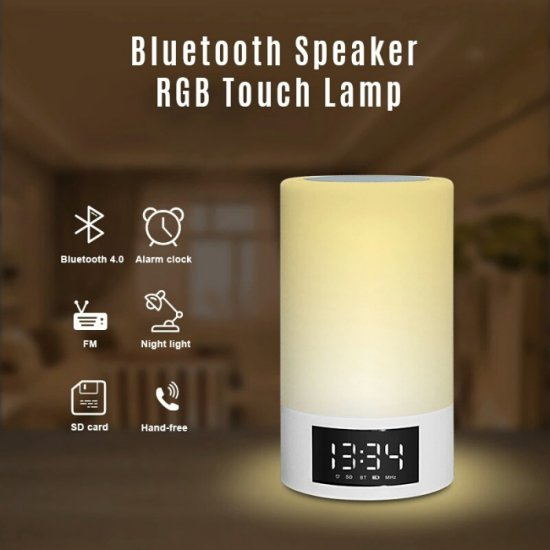 Boks me Bluetooth M6 | Wireless Speaker LED Light