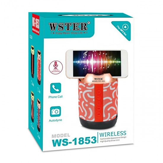 Boks me Bluetooth Wster WS-1853   Wireless Portable Speaker