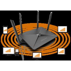 Router Wireless D-Link Gigabit me 4 Antena 2.6 Gbps | Pajisje Rrjeti Mu-MIMO