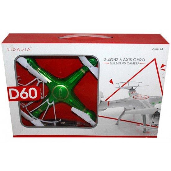 Dron Fluturues D-60 me Autonomi Fluturimi 8 Minuta