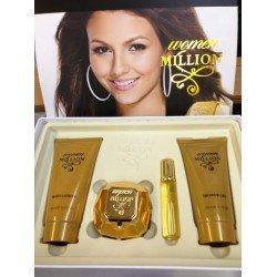 Set per Femra One Million ( Parfum 80 ml, Parfum 20 ml, Locion per Trupin, Xhel pas Dushit)
