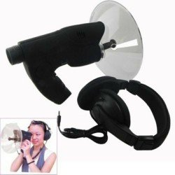 Mikrofon Parabolik per te Degjuar Zerin deri ne 300 metra