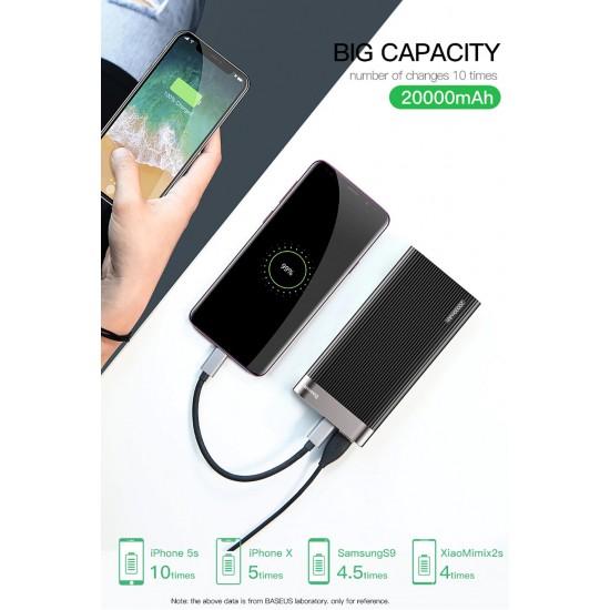 Bateri e Jashtme Baseus Power Bank 20000mAh