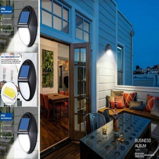 Drite LED me Sensor me Karikim Diellor