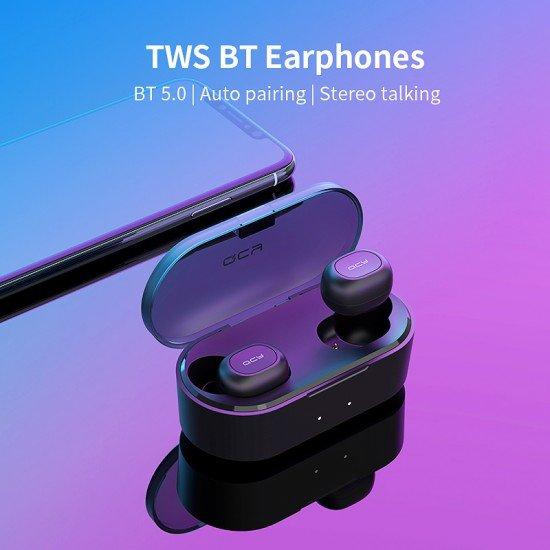 Kufje Wireless QCY QS2 Stereo me Mikrofon