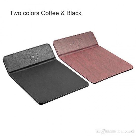 Karikues Wireless dhe Mouse Pad per iPhone 8, X, XS,11 Pro, Samsung S8, S9, Note 8/9 Fast Charger