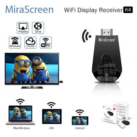 MiraScreen K4 Wireless WiFi Display