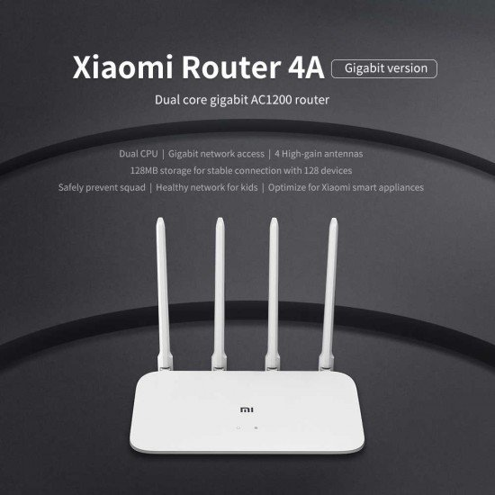 Router Xiaomi Mi 4A Gigabit | Pajisje Rrjeti