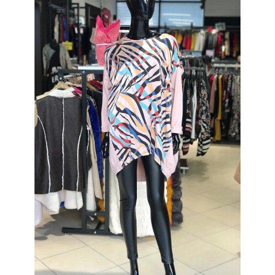 Bluze Oversize me Dizenjo per Femra