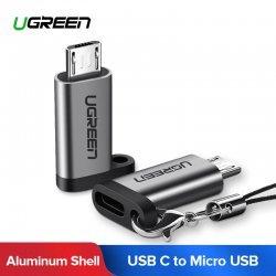 Adaptor Ugreen Micro USB ne Type-C per Huawei, Xiaomi, Samsung