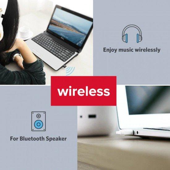 USB me Bluetooth 4.0 Ugreen Adaptor per Pajisje si : Boks, Mouse, Tastjere, Printer, Kufje, Celulare