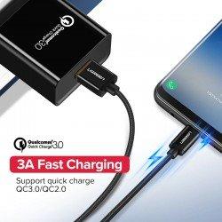 Fishe Karikimi Ugreen Android USB ne Type-C Fast Charger 200cm