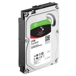 "Hard Disk i brendshem Seagate HDD 2TB 64MB 3.5"", IronWolf NAS Sata III"