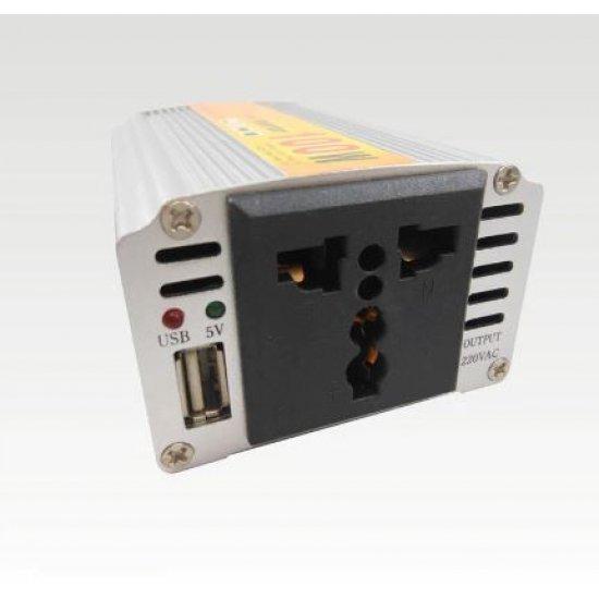 Konvertues Energjie Makine 100W | Power Inverter DC 12v to AC 220V