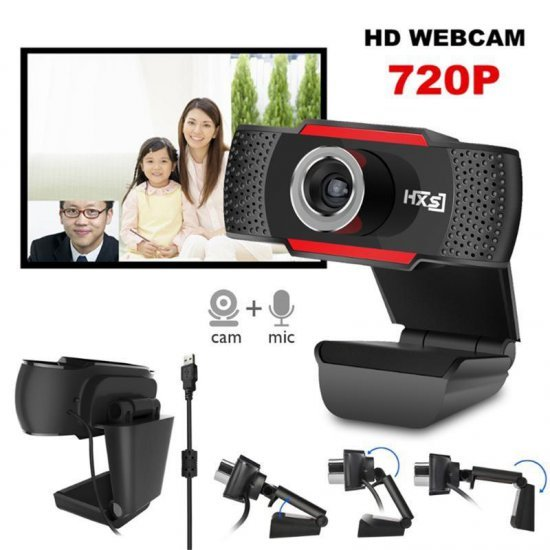 Kamera Desktop Full HD 720P| Digital Camera Plug and Play Free Driver C12