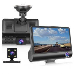 Kamera per Makine WDR Dash me 3 Lente 1080p Full HD|Car DVR Video Recorder