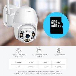 Kamera Sigurie me WiFi | Kamera IP 1080 Full HD | Kamera PTZ