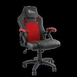 Karrige per Lojra Gaming Chair White Shark Kings Throne