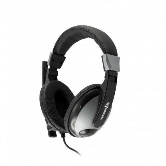 Kufje per Lojra SBOX HS-302 me Mikrofon | GAMING HEADSET