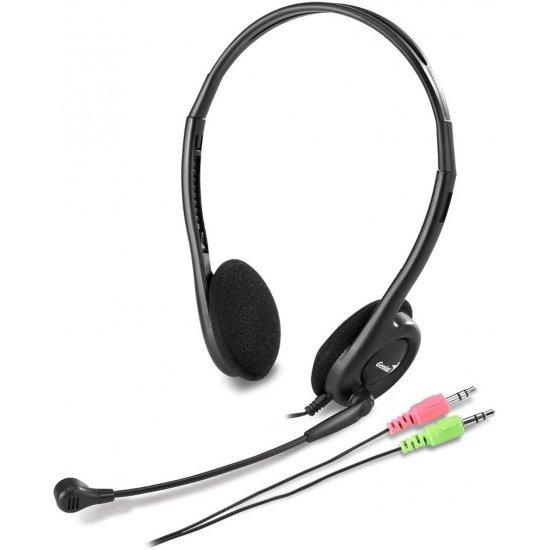 Kufje Genius + Mikrofon HS-200C per Kompjuter | Headset for PC