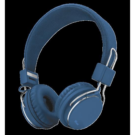 Kufje Trust ZIVA 21823 Ngjyre e Blu   HEADPHONES