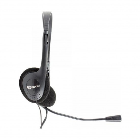 Kufje HEADSET SBOX me mikrofon | HEADSET SBOX HS-201