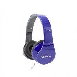 Kufje HEADSET SBOX HS-501 Blu me mikrofon| KUFJE SBOX HS-501BL