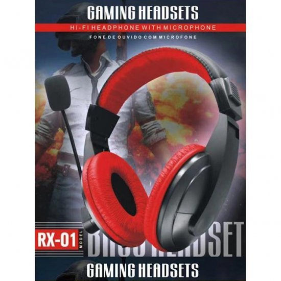 Kufje Gaming me Mikrofon per Kompjuter dhe Celular | Headphone RX-01
