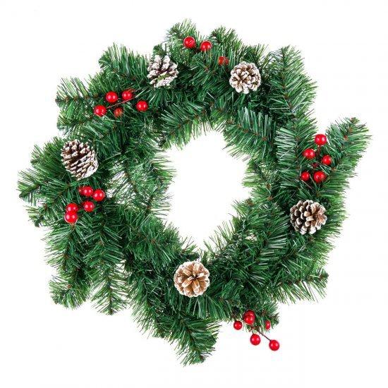 Kurore Krishtlindje 50 cm per Dekorimin e Shtepise