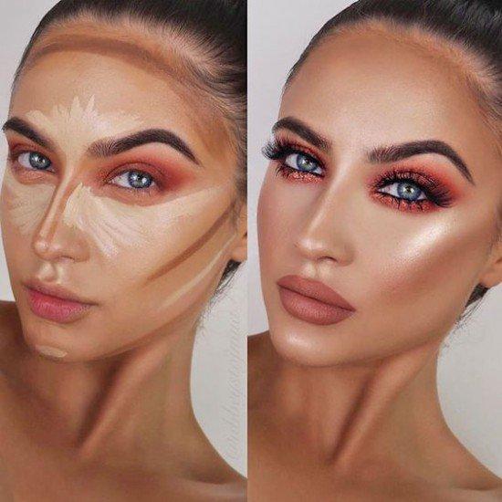 Kontur per Fytyren | Produkte Kozmetike | Makeup