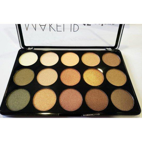 Palete dhe Highlighter per Femra me 15 Ngjyra