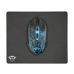 Mouse Gaming Trust + Mouse Pad 22736 GXT 783 Gaming   VideoGame