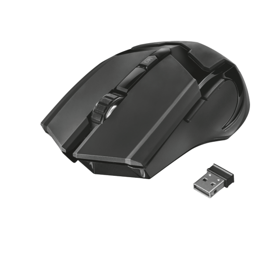 Mouse Gaming me Wireless Trust GXT 23213 103 Gav 6d 2000 dpi | VideoGame