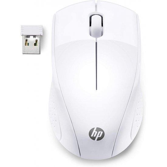 Mouse me Wireless HP 220 Snow White 7KX12AA   Mouse per Kompjuter