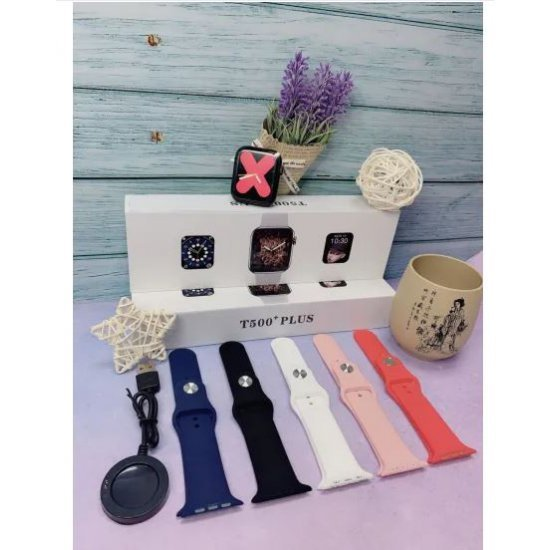 Smartwatch per Meshkuj / Femra me Bluetooth | Ore Inteligjente T500 Plus