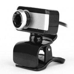 Kamera Desktop JEDEL| Webcam PC USB 2.0