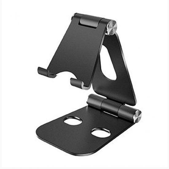 Mbajtese Telefoni Alumini per Tavoline| Black Phone Stand Table