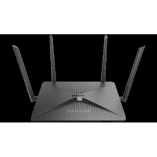 Router Wireless D-Link Gigabit me 4 Antena 2.6 Gbps   Pajisje Rrjeti Mu-MIMO