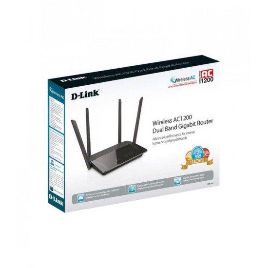 Router Wireless D-Link Gigabit me 4 Antena 1.2 Gbps | Pajisje Rrjeti Mu-MIMO